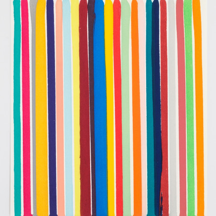 Ian Davenport - Chromology Etching, 2014