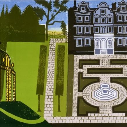 Edward Bawden - Queen's Garden