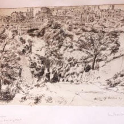 George Hooper - San Gimignano, 1937