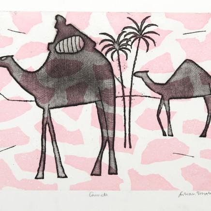 Julian Trevelyan - Camels