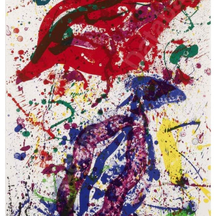 Sam Francis - Untitled (SF-329), 1988