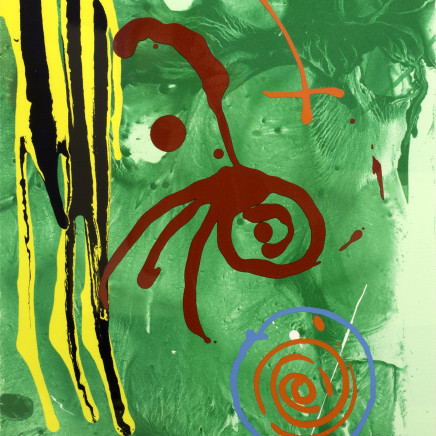 John Hoyland - The Gnome