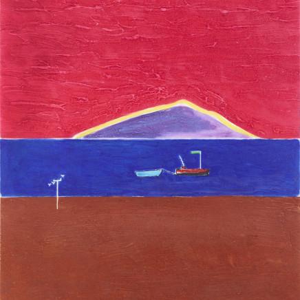 Craigie Aitchison - Holy Island