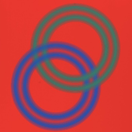 'Ring-a-Rosé, 1991, screen print, 45cm x 61cm, £500.00