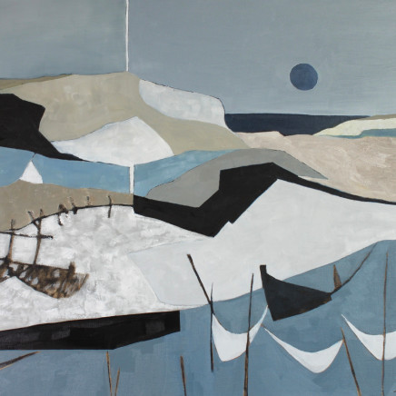 Rooks, Tipping The Balance, oil on canvas, 106cm x 76cm