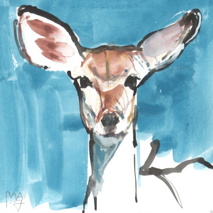 Mark Adlington - 52. Young Kudu, 2019