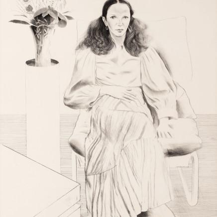 David Hockney RA - Brooke Hopper, 1976