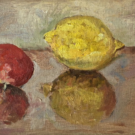 Muriel Mallows - Still Life with Lemons, 2018