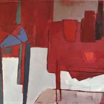 Marie Boyle - Red Table, 2018