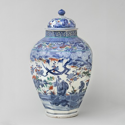 JAPANESE PORCELAIN AND WORKS OF ART