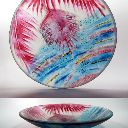 Teresa Chlapowski - Whirlpool Draped Bowl