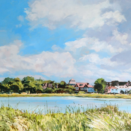 Colin Cook - Summer at Rushmere Pond, Wimbledon, 2020
