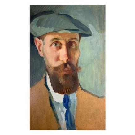 Pierre Adolphe Valette - Self-Portrait with Cap