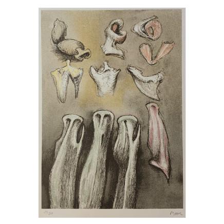 Henry Moore - Three Sisters, 1981