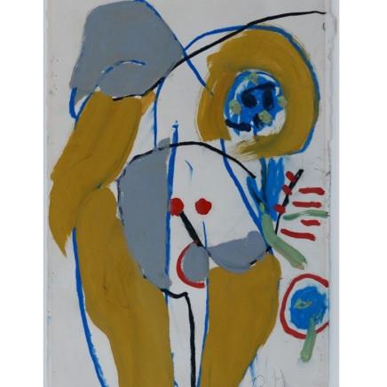 Roger Hilton - Nude, 1974