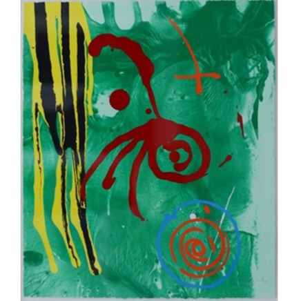 John Hoyland - Green Gnome