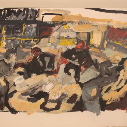 """""""After Vuillard"""" (After Dinner), 2010"""