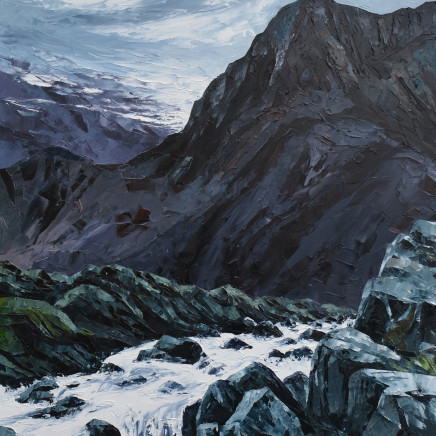 Gwyn Roberts - Cwm Idwal, Gaeaf / Cwm Idwal, Winter