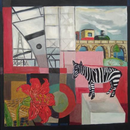 Emrys Williams - Zebra & Eiffel Tower