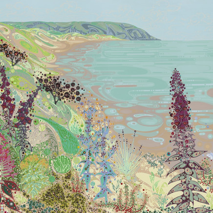 Katie Allen - Oxwich towards Crawly Woods II