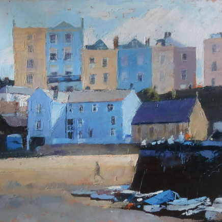Anne Aspinall - Tenby Harbour, Low Tide