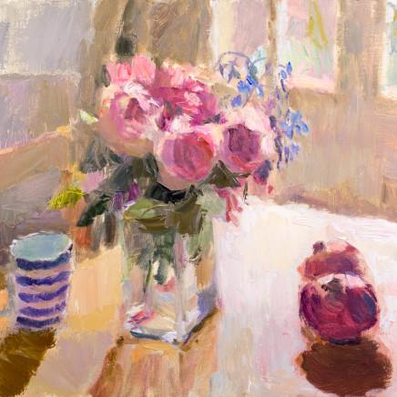 Lynne Cartlidge - Roses in the Dining Room
