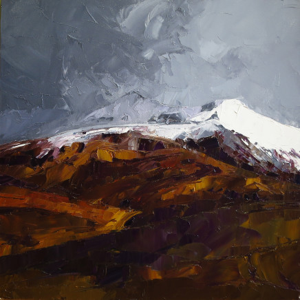 David Grosvenor - Snowstorm over Snowdon I