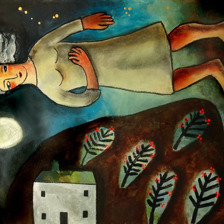 Susan Gathercole - Winter Night Home