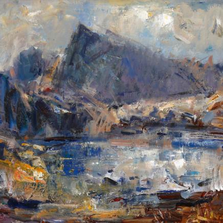 Gareth Parry - Llyn yn y Mynydd, Cwm Ffynnon II / Lake in the Mountains, Cwm Ffynnon II