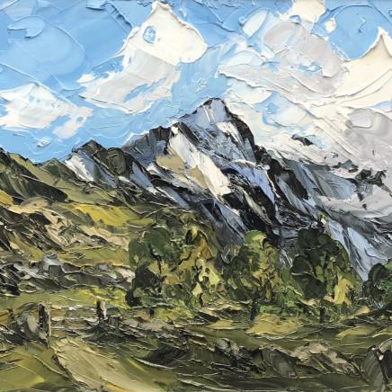 Martin Llewellyn - Spring Snow, Cnicht