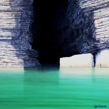 Ceri Auckland Davies - Emerald Sea - Llanbedrog to Ynys Gwylan