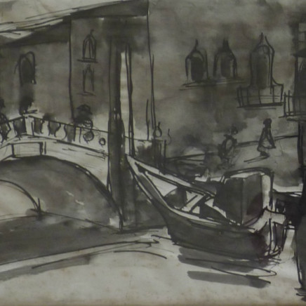 Josef Herman - Venice