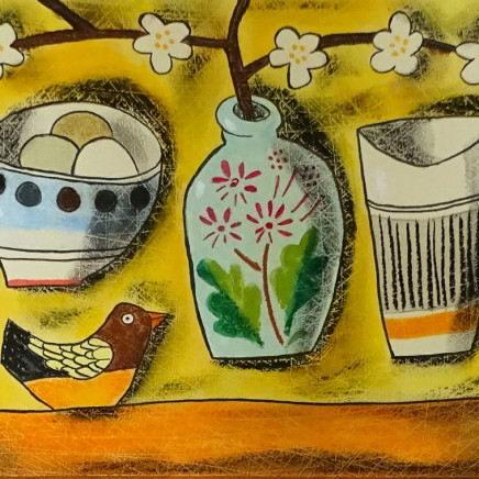 Susan Gathercole - Little French Jar and Bird