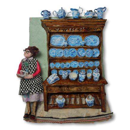 Luned Rhys Parri - Dresel a'i Llestri Glas / Dresser and Blue China
