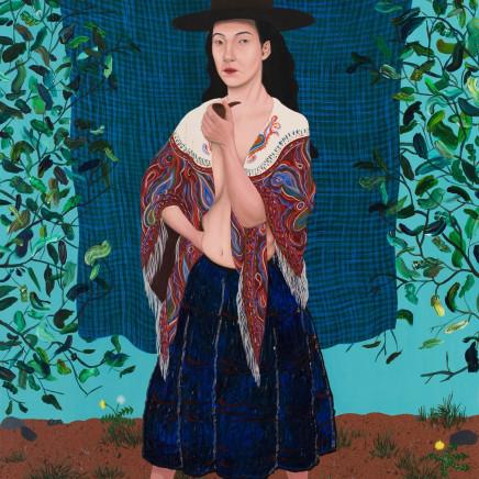 Seren Morgan Jones - Salem (Welsh Woman and her Shawl)
