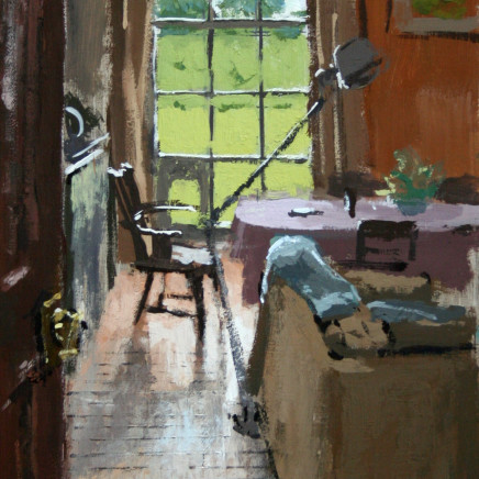 Matthew Wood - View through the Kitchen, Delbury Hall