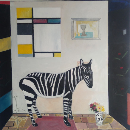 Emrys Williams - Zen Zebra, Kettles Yard