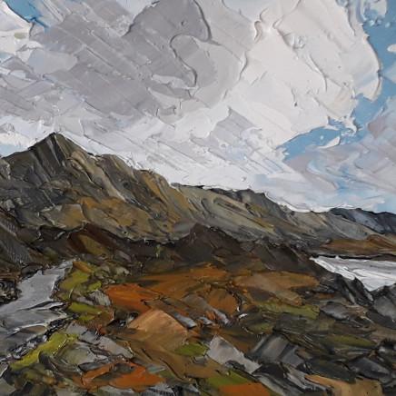 Martin Llewellyn - Clouds over Pen yr Ole Wen