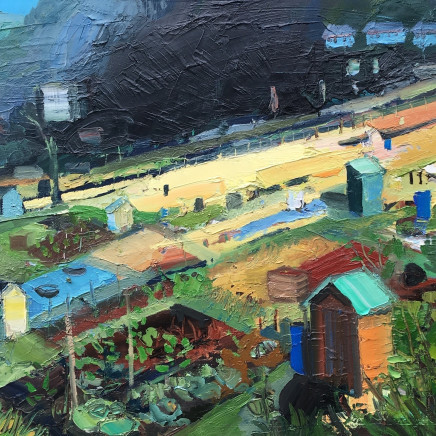 Sarah Carvell - Patch on Sunlight on the Allotments