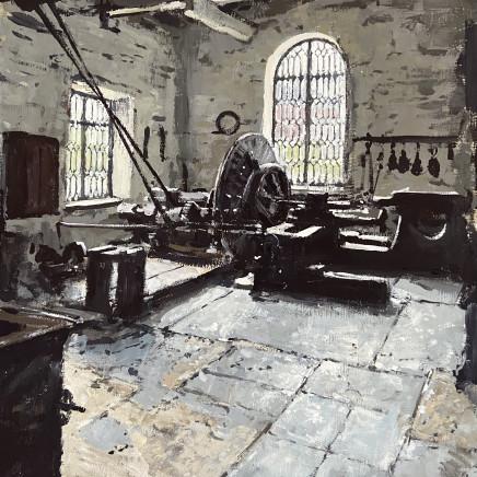 Matthew Wood - National Slate Museum, Llanberis - Water Powered Lathe