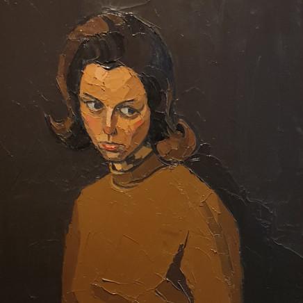 Kyffin Williams - Portrait of Dorothy Anne McLaren, 1968