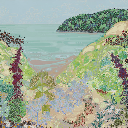 Katie Allen - Towards Oxwich Point