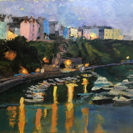 Anne Aspinall - Tenby, Harbour Lights