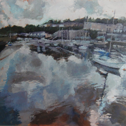 Anne Aspinall - Porthmadog, Rain Clouds