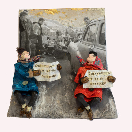 Luned Rhys Parri - Protest Pont Trefachan