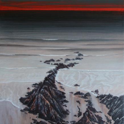 Ceri Auckland Davies - Red Sky