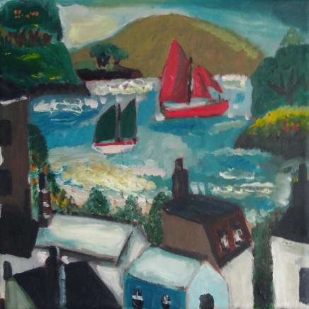 Emrys Williams - House and Sea, Brittany