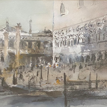 William Selwyn - Piazzetta & The Ducal Palace