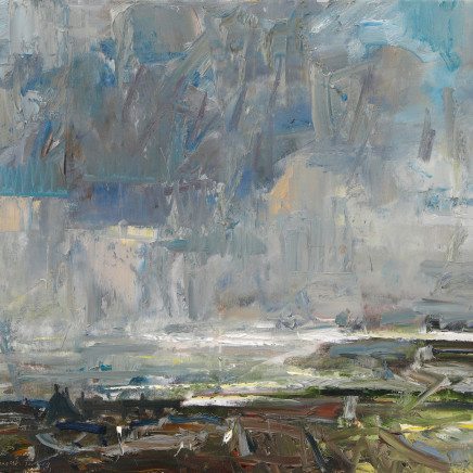 Gareth Parry - Cawodydd dros y Môr, Llŷn / Showers over the Sea, Llyn