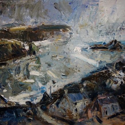 Gareth Parry - Farm by the Sea, Winter / Fferm ger y Môr, Gaeaf